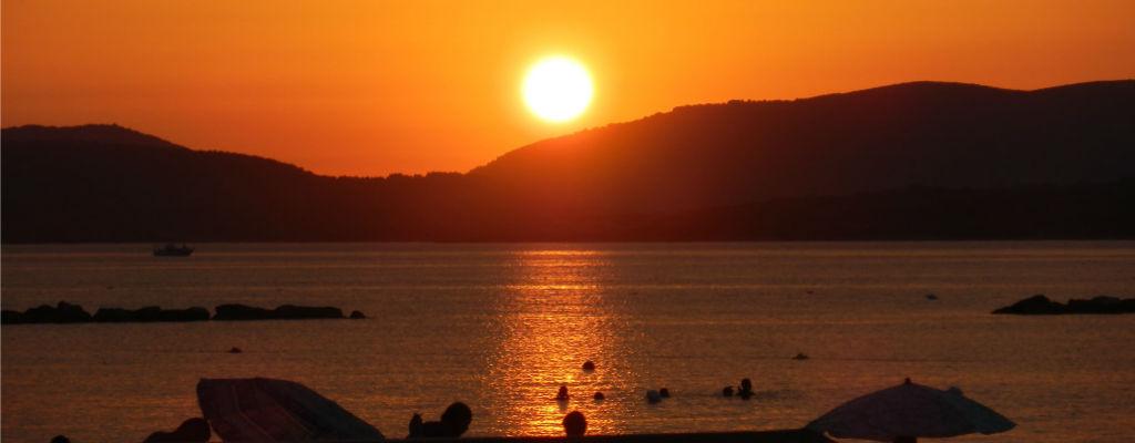 Puesta de sol - Viajar a las Islas de Cerdeña
