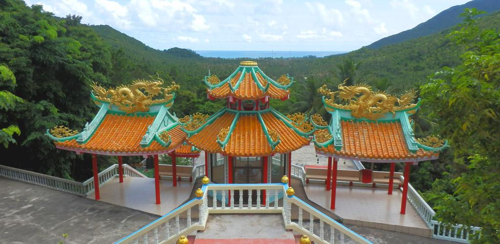 Templo budista estilo chino Koh Phangan