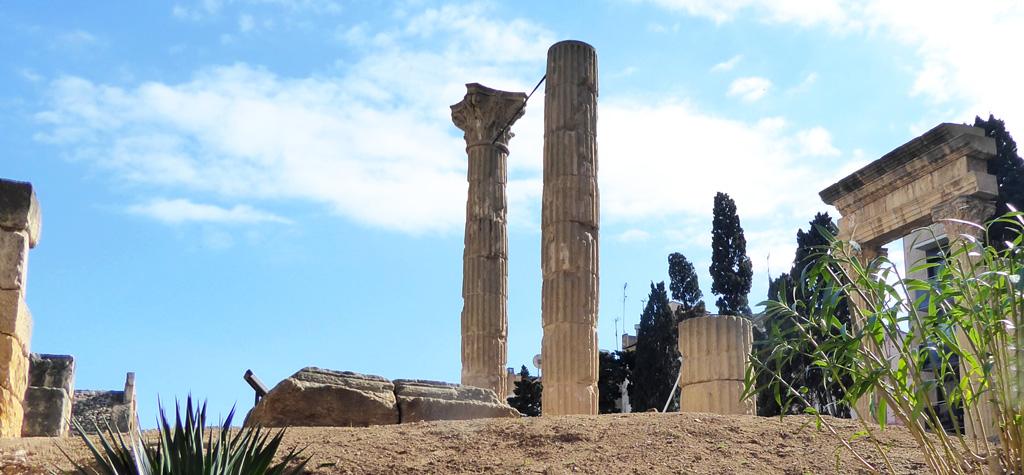 El foro era el centro religioso y social de la ciudad romana