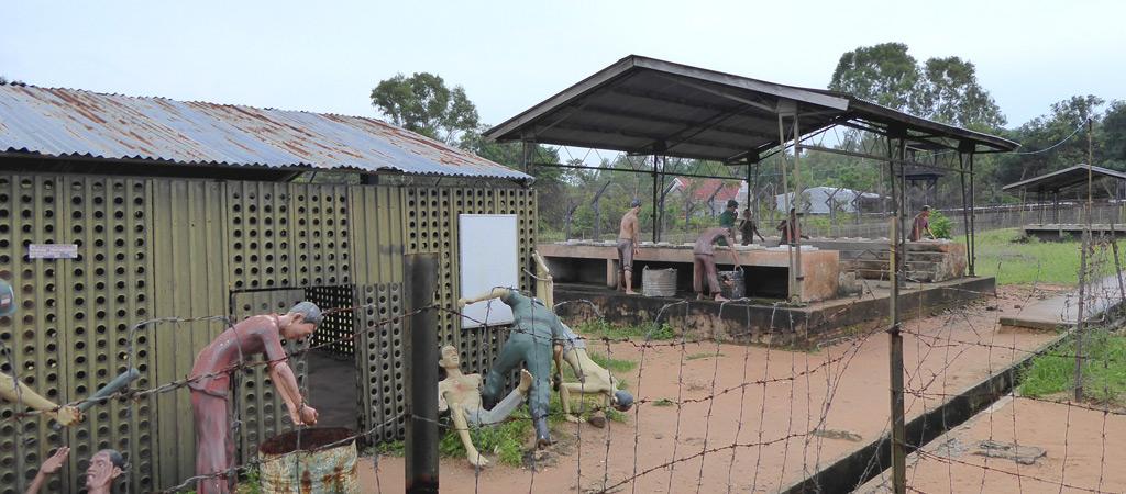 Prisión llamada Coconut Tree en Phu Quoc
