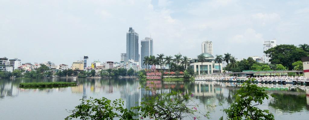 Lago Tay en Hanói