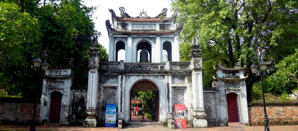 Templo de la Literatura en Hanói