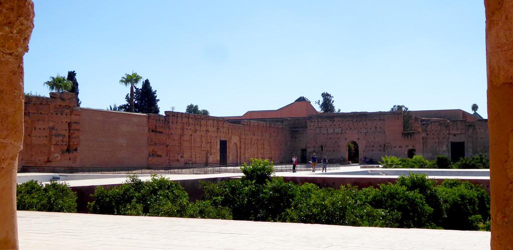Resto del Palacio El Badi en Marrakech