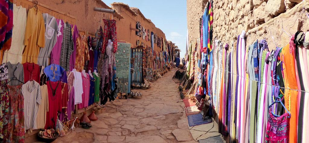 Calles de Ait Ben Hadu