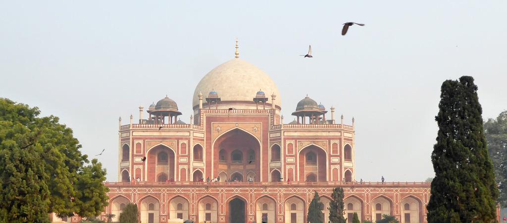 Tumba de Humayun en Nueva Delhi