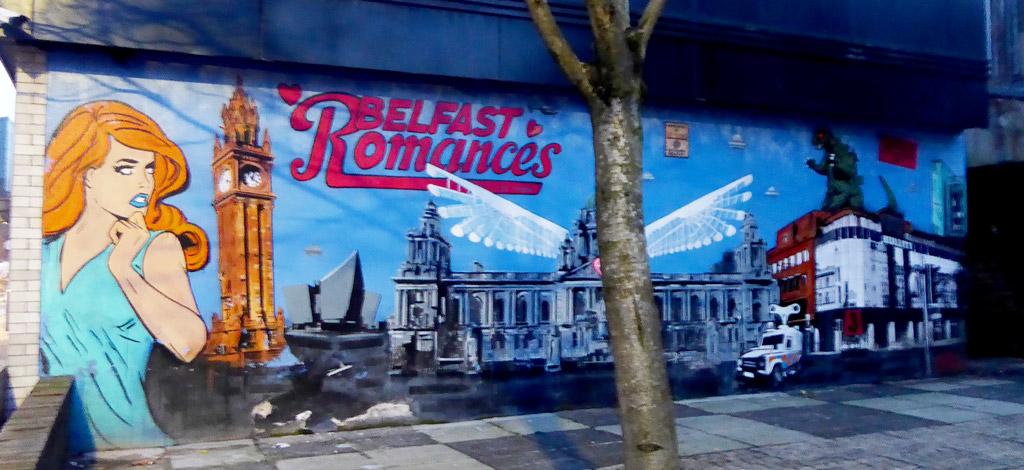 Viajar a Belfast - Mural