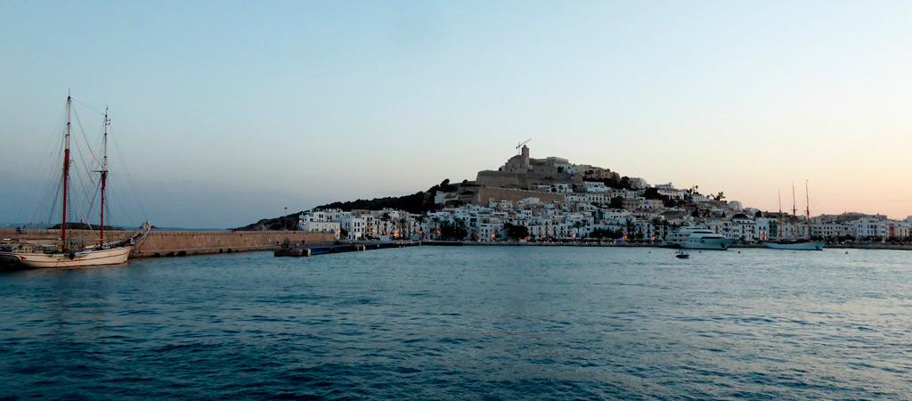 Dalt Vila en Ibiza ciudad